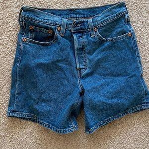 Levi's Premium 501 Jean shorts